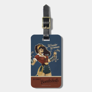 Wonder Woman Bombshell Tag For Luggage