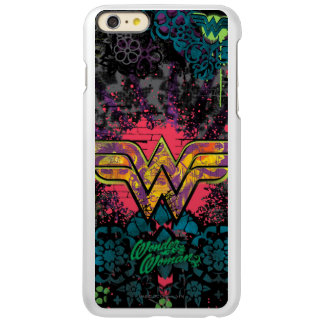 Wonder Woman Brick Wall Collage Incipio Feather Shine iPhone 6 Plus Case