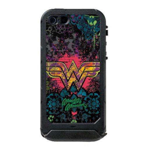 Wonder Woman Brick Wall Collage Waterproof iPhone SE/5/5s Case