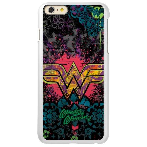Wonder Woman Brick Wall Collage Incipio Feather Shine iPhone 6 Plus Case