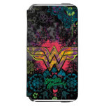 Wonder Woman Brick Wall Collage iPhone 6/6s Wallet Case