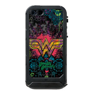 Wonder Woman Brick Wall Collage Waterproof iPhone SE/5/5s Case