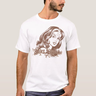Wonder Woman Brown T-Shirt