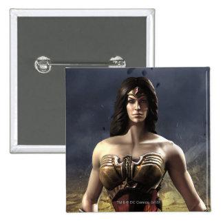 Wonder Woman Pinback Button