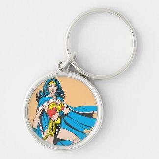Wonder Woman Cape Key Chain