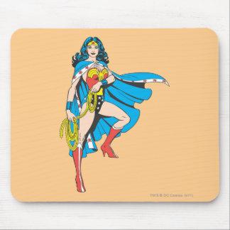 Wonder Woman Cape Mouse Pad