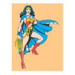 Wonder Woman Cape Postcard