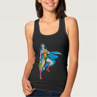 Wonder Woman Cape Tank Top