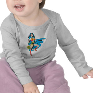 Wonder Woman Cape Tee Shirts