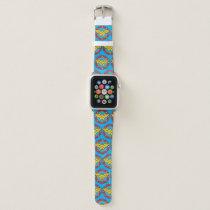 Wonder Woman | Circle & Stars Logo Apple Watch Band