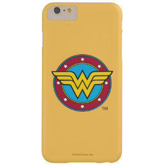 Wonder Woman | Circle & Stars Logo Barely There iPhone 6 Plus Case