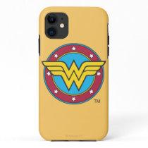 Wonder Woman | Circle & Stars Logo iPhone 11 Case