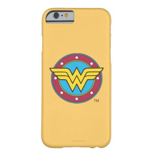 Wonder Woman   Circle & Stars Logo Phone Case