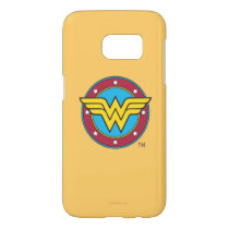 Wonder Woman | Circle & Stars Logo Samsung Galaxy S7 Case