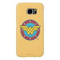 Wonder Woman | Circle & Stars Logo Samsung Galaxy S6 Case
