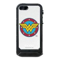 Wonder Woman | Circle & Stars Logo Waterproof iPhone SE/5/5s Case
