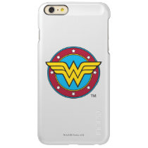 Wonder Woman | Circle & Stars Logo Incipio Feather Shine iPhone 6 Plus Case