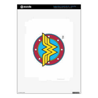 Wonder Woman | Circle & Stars Logo iPad 3 Skin