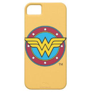 Wonder Woman Circle & Stars Logo iPhone SE/5/5s Case