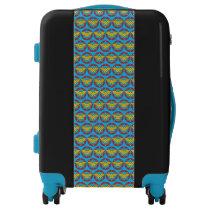 Wonder Woman | Circle & Stars Logo Luggage