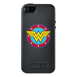 Wonder Woman | Circle & Stars Logo OtterBox iPhone 5/5s/SE Case
