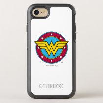 Wonder Woman | Circle & Stars Logo OtterBox Symmetry iPhone SE/8/7 Case