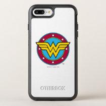 Wonder Woman | Circle & Stars Logo OtterBox Symmetry iPhone 8 Plus/7 Plus Case
