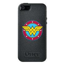 Wonder Woman | Circle & Stars Logo OtterBox iPhone 5/5s/SE Case