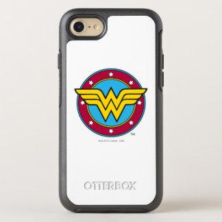 Wonder Woman   Circle & Stars Logo OtterBox Symmetry iPhone 7 Case