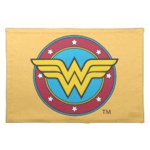 Wonder Woman | Circle & Stars Logo Placemat