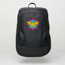 Wonder Woman | Circle & Stars Logo Port Authority® Backpack