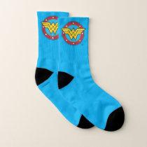 Wonder Woman | Circle & Stars Logo Socks