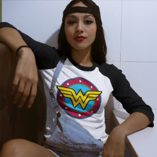 Wonder Woman T shirts Super héros Coton Tshirts pour Femme