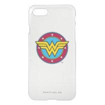 Wonder Woman | Circle & Stars Logo iPhone SE/8/7 Case