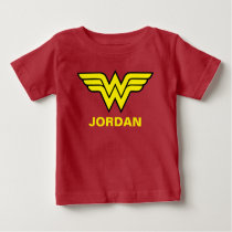 Wonder Woman | Classic Logo Baby T-Shirt