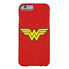 Wonder Woman | Classic Logo Barely There Iphone 6 Case at Zazzle
