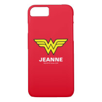 Wonder Woman | Classic Logo iPhone 8/7 Case
