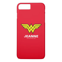 Wonder Woman | Classic Logo iPhone 8 Plus/7 Plus Case