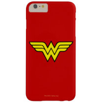 Wonder Woman | Classic Logo Barely There iPhone 6 Plus Case