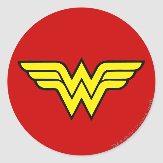 Wonder woman classic logo classic round sticker zazzle wonder woman classic logo classic round sticker pronofoot35fo Gallery
