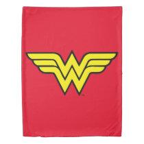 Wonder Woman   Classic Logo Duvet Cover