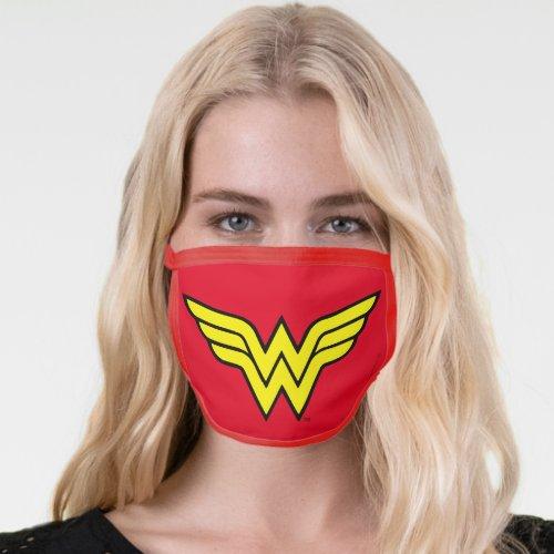 Wonder Woman   Classic Logo Face Mask