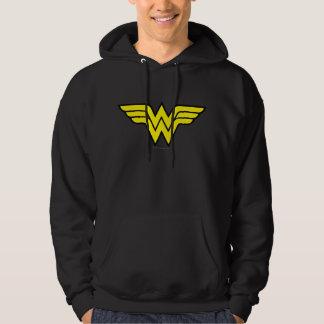 Wonder Woman   Classic Logo Hoodie