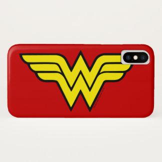 Wonder Woman   Classic Logo iPhone X Case