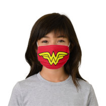 Wonder Woman | Classic Logo Kids' Cloth Face Mask