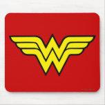 Wonder Woman   Classic Logo Mouse Pad