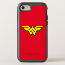 Wonder Woman | Classic Logo OtterBox Symmetry iPhone SE/8/7 Case