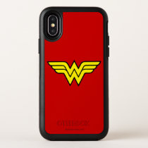 Wonder Woman | Classic Logo OtterBox Symmetry iPhone X Case