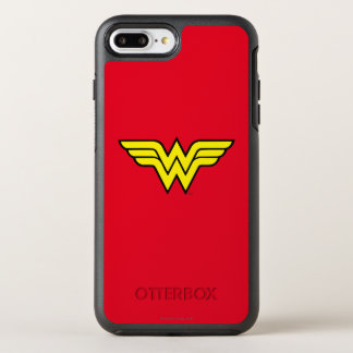 Wonder Woman | Classic Logo OtterBox Symmetry iPhone 8 Plus/7 Plus Case