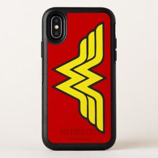 Wonder Woman | Classic Logo OtterBox Symmetry iPhone X Case
